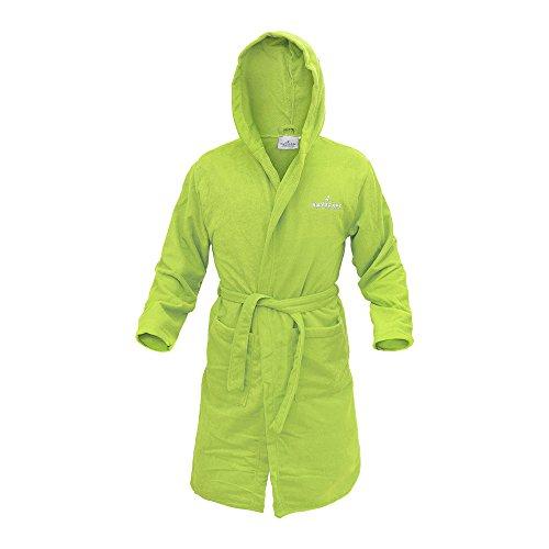 Navigare Accappatoio Unisex Microspugna Ultra Dry Vari Colori (Lime Green - L)