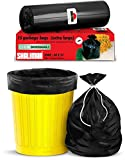 Shalimar Premium OXO - Biodegradable Garbage Bags (Extra Large) Size 76 cm x 94 cm 4 Rolls (60 Bags) (Dustbin Bag/Trash Bag) (Black Colour) bottom diaper liners May, 2021