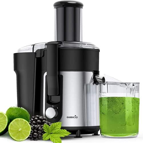 EASEHOLD Centrifugal Juicer Professional Fruit Vegetable Extractor Whole Juice Machine 1000W