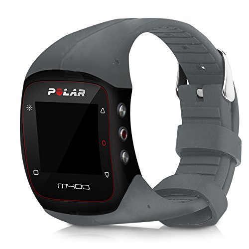 kwmobile Armband kompatibel mit Polar M400 / M430 Armband - Fitnesstracker Sportarmband Band aus TPU und Silikon