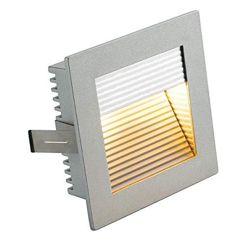 SLV FLAT FRAME Leuchte Indoor-Lampe Aluminium Silber Lampe innen, Innen-Lampe