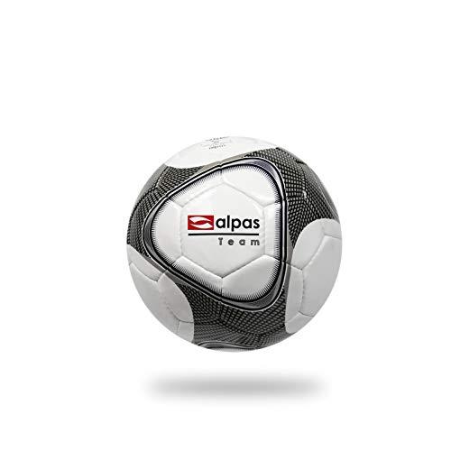 Alpas Fußball Team Gr. 3, 4 & 5 / Trainingsball *NEU*, Größe: 3, Farbe: weiß/Silber