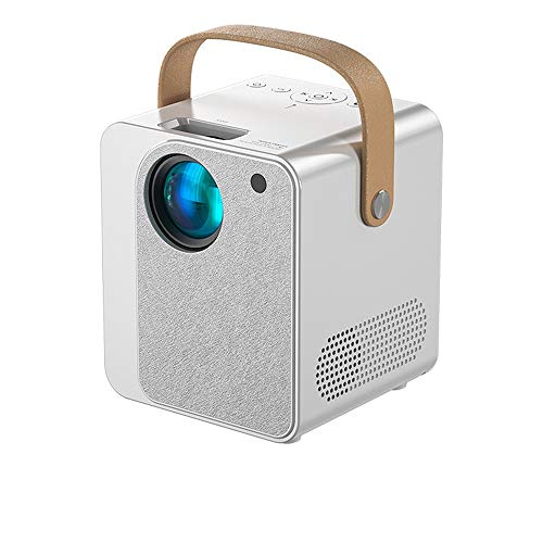 Zay Luay Mini Projector 2021 Upgraded Portable Video-Projector,HD Smart Phone Projector Wireless Same Screen Projector Home,Compatible With Full HD 1080P HDMI,VGA,USB,AV,Laptop