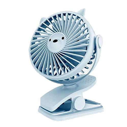 Ventilatore Da Tavolo USB/Silenzioso Ventola Di Raffreddamento Desktop Piccolo/Può Ruotare L'angolo Di Direzione Del Vento/ Ventaglio A Clip Di Grande Vento/Campeggio/Sonno/Portatile/Ufficio / Esterno