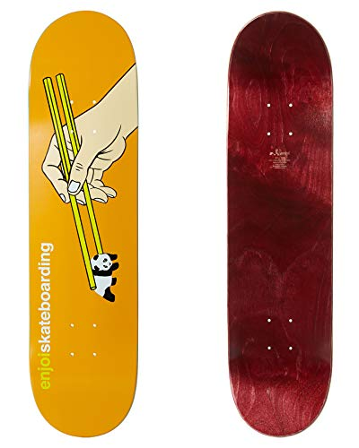 Enjoi Skateboards - Tavola da skateboard, 8 cm, colore: Arancione
