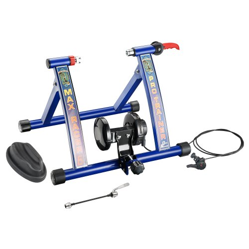 RAD Cycle Products Max Racer PRO 7 Levels of with Smooth Magnetic Resistance Bicycle Trainer Allows You to Work Out with Your Bike