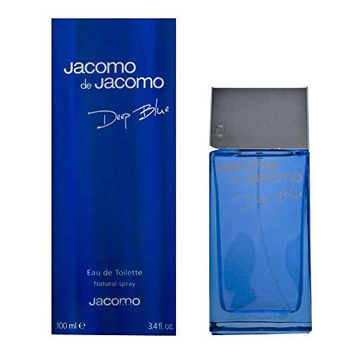 Jacomo de Jacomo Deep Blue by Jacomo for Men - 3.4 Ounce EDT Spray