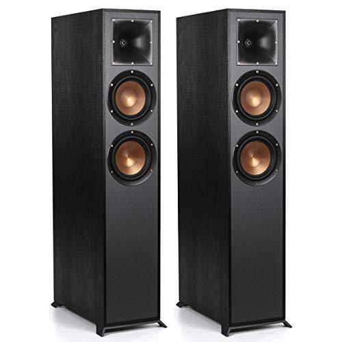 Find Discount Klipsch R-625FA Dolby Atmos Floorstanding Speakers - Pair (Black)