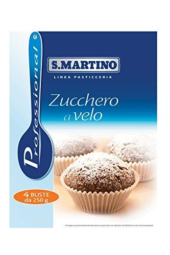 S.Martino - Zucchero a Velo - Astuccio - 2 pezzi da 1 kg [2 kg]