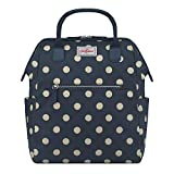 Cath Kidston Frame Backpack Button Spot Navy