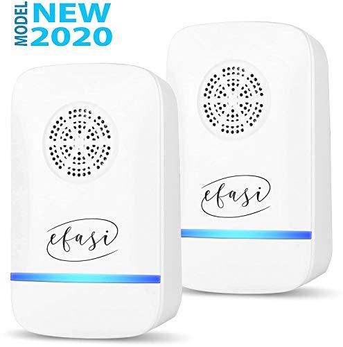 EFASI Repellente Ultrasuoni, Ultrasuoni per Topi, Professionale 2020, Antizanzare ultrasuoni, Efficace Contro:...