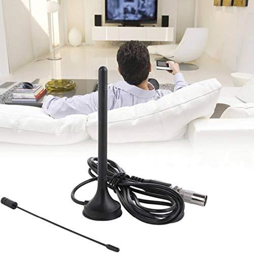 Luoshan Home Radio Antena FM DTMB Amplificador de señal de TV DVB-T / T2 Antena de Coche (TV Macho) (Color : Color1)