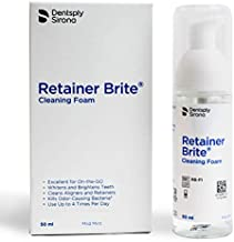 Retainer Brite Cleaning and Whitening Foam - Clean Retainers and Whiten Teeth on-the-go