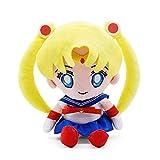 xuritaotao 21.5cm 8.4in Sailor Moon en Peluche Jouet Japonais Anime Mignon Doux rembourré poupées Kawaii Filles Enfants Anniversaire Cadeau de Noël Enfants