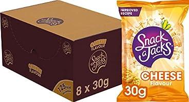 Snack A Jacks Rijstwafel Cheese, Doos 8 stuks x 30 g