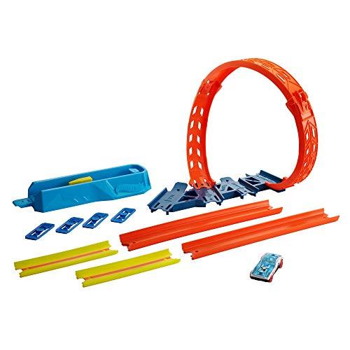 Hot Wheels -Track Builder Unlimited Set Super Loop, Giocattolo per Bambini 6+ Anni, GVG07