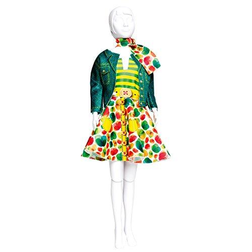Vervaco PN-0164658 Kit de création de tenue de couture, Assortie, Convient à toute poupée de mode de 29 cm
