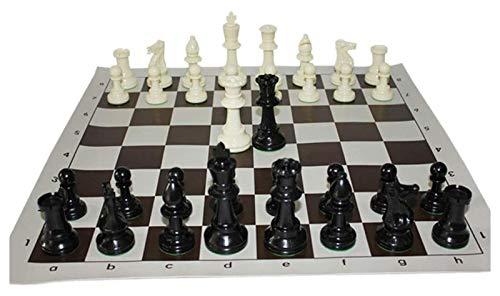 LSF Internationales Standard-Wettkampftraining Für Erwachsene, Tragbares Puzzle Für Kinder Mit Einer Größe Von 43 X 43 cm, Sichere Und Ungiftige PVC-Floppy-Disk-Gum-Schachfiguren