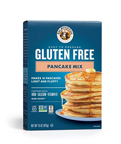 King Arthur Flour KING ARTHUR FLOUR Gluten Free Pancake Mix 15 Ounce Pack of 6