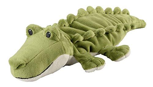 "Warmies® Wärmekissen/Stofftier\""Minis Krokodil\"" herausnehmbare Hirse Lavendelfüllung 20cm 280g"