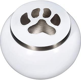 Best Friend Services Mia Paws Series Pet Urn - Cloud White