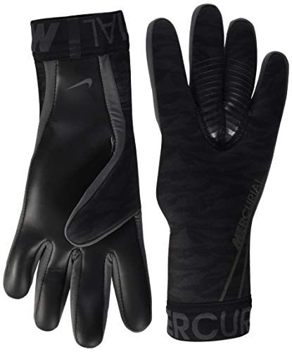 Nike Nk Gk MERC Touch Victory-fa19 Handschuhe Unisex Kinder L Schwarz/Anthrazit/Silber (Black/Anthracite/Metallic Silver)