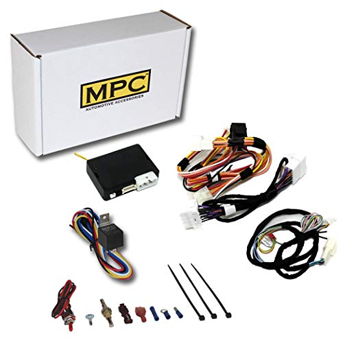 MPC Complete Factory Remote Activated Remote Start Kit for 2014-2015 Nissan Rogue Select Key-to-Start ONLY - with T-Harness - Firmware Preloaded