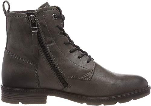 camel active Aged 70, Damen Biker Boots, Grau (Grey 4), 39 EU (6 UK)