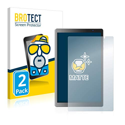 BROTECT Protector Pantalla Anti-Reflejos Compatible con Vankyo MatrixPad S20 (2 Unidades) Pelicula Mate Anti-Huellas