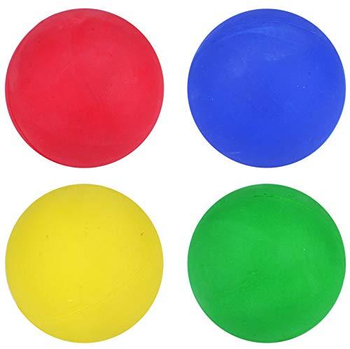 Coque rigide en caoutchouc pour chien de tirer-n Play-Rouge, Vert et jaune & Bleu-Lot de 2 de 12