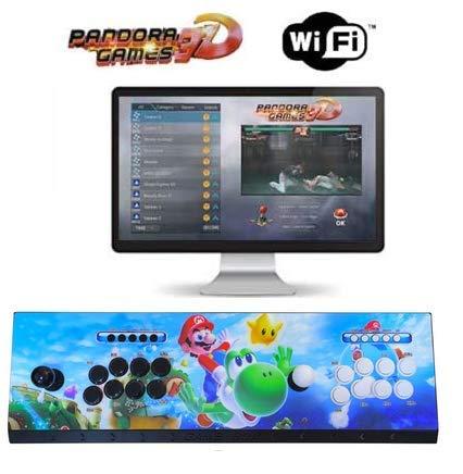 Theoutlettablet@ - Pandora Box 6 Wireless con 1300 Juegos Retro Consola Maquina Arcade Video Gamepad VGA/HDMI/USB