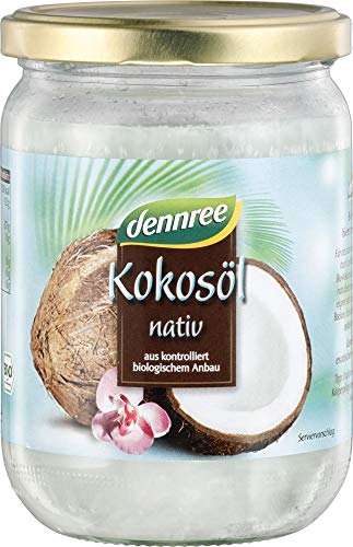 dennree Kokosöl, nativ (450 ml) - Bio