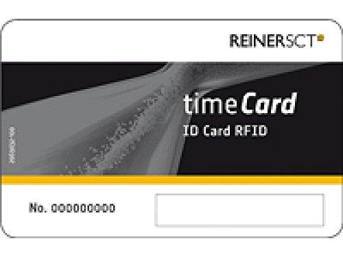 Reiner SCT timeCard Mitarbeiter Modul 10 DES Chipkarten
