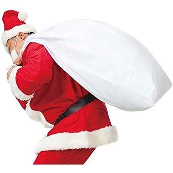MAKE CHEERFUL サンタクロース 袋 クリスマス袋 サンタさんの袋 大きサイズ