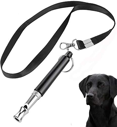 ABWIOZ Professional Dog Whistles to Stop Barking, Trasonic Silent Dog Whistle Adjustable Frequencies, Effective Way of Training, Whistle Dog Whistle for Recall Training