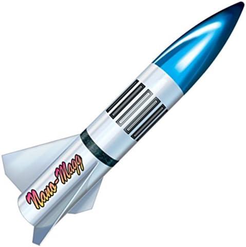 LOC Precision 5☆好評 Flying Model Rocket Nano PK-17 Kit 税込 Magg 2.5
