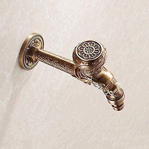 Rubinetto da giardino Dragon Antique Quick fuori dalla canna con rubinetto della lavatrice antico e rubinetto antico