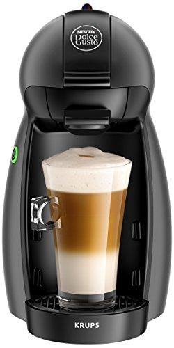 Krups YY2283FD Nescafé Dolce Gusto Piccolo Kaffeekapselmaschine, Kunststoff, anthrazit