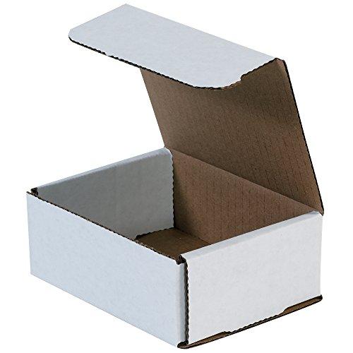 BOX USA BM542 5'L x 4'W x 2'H, White (Pack of 50)