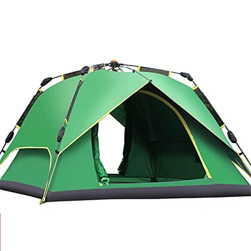 XZZ Carpa Automática para Acampar Al Aire Libre, 4 Estaciones Senderismo, Camping, Carpa De Picnic, Resistente Al Viento Y Al Agua, Dos Colores, Alta Protección Solar Carpa De Senderismo para