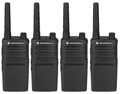 4 Pack of Motorola RMU2040 Two way Radio Walkie Talkies (UHF)