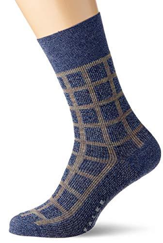 FALKE Herren Sensitive All Time Rise Socken, blau (blue velvet 6600), 39-42