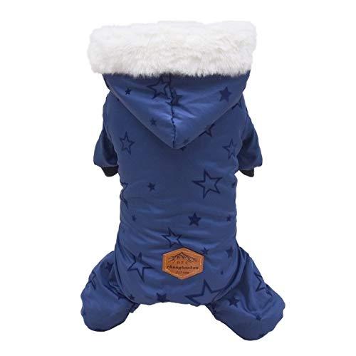 XMYNB Ropa para perros de invierno abrigo para perros pequeños y medianos...