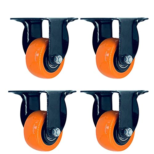 Guuisad Ruedas giratorias, ruedas de protección de 4
