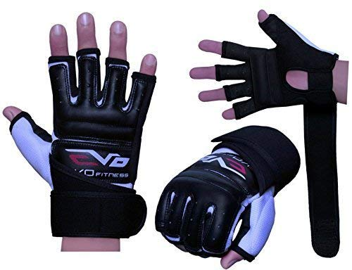 evo leather body gel gloves