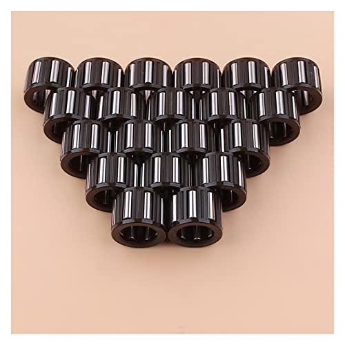 Ajuste perfecto 20pcs / lot Piston Cojinete de la aguja Ajuste para S-TIHL 066 MS660 MS640 064 TS700 TS800 MS 660 640 Sierras de Gas Sierras de Gas Piezas de repuesto 9512 003 3281 Buena resistencia a