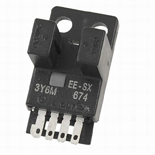 Interruptor fotoeléctrico con micro sensor de foto EE-SX674 NPN