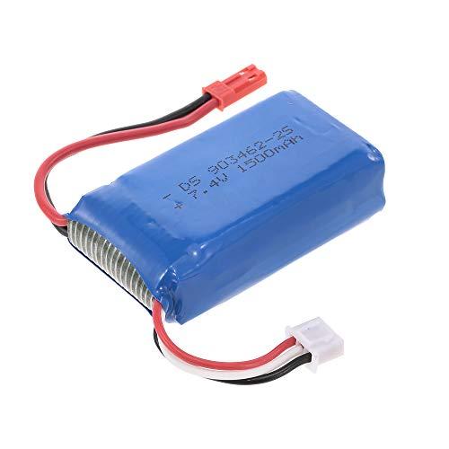 Goolsky 7.4V 1500mAh Lipo Battery per Dongmingtuo X8 WiFi FPV Drone Quadcopter