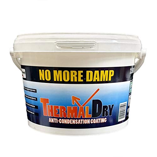 Wykamol Thermaldry No More Damp Anti-Condensation Kitchen and Bathroom Paint White 2.5L
