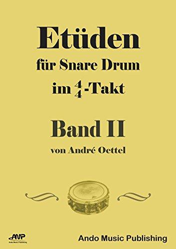Etüden für Snare-Drum im 4/4-Takt - Band 2